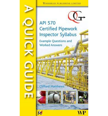 A Quick Guide to API 570 Certified Pipework Inspector Syllabus