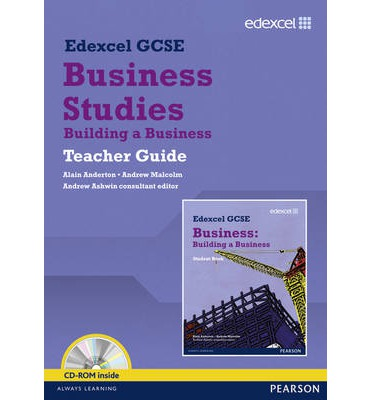 Edexcel GCSE Business: Building a Business Teacher Guide: unit 3
