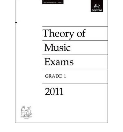 Theory of Music Exams 2011, Grade 1