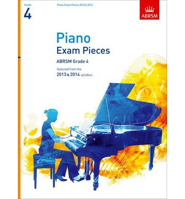 Piano Exam Pieces 2013 & 2014, ABRSM Grade 4