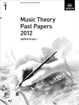 Music Theory Past Papers 2012, ABRSM Grade 1 2012
