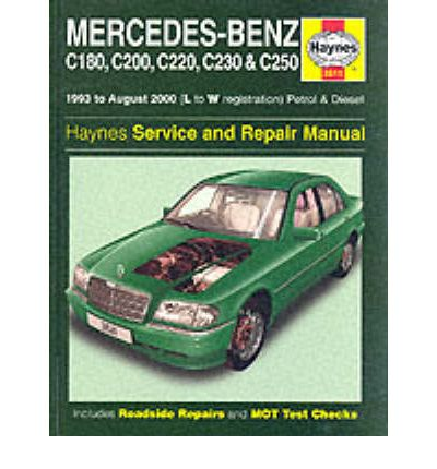 Mercedes-Benz C-class Petrol and Diesel (1993-2000) Service and Repair Manual