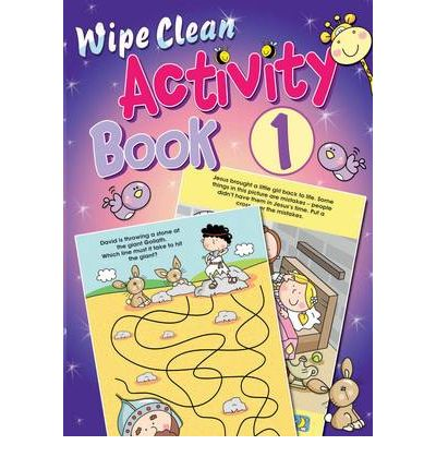 Wipe Clean Activity: Book 1