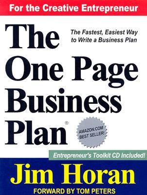 The SIMPLE One-Page Business Plan – Template