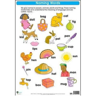 Naming Words: Wall Chart : Foundation Phase