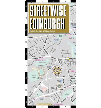 Streetwise Edinburgh Map - Laminated City Center Street Map of Edinburgh, Scotland