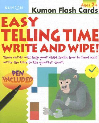 Easy Telling Time Write and Wipe!