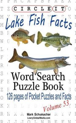 Circle it lake fish facts word search puzzle book for Fishing net crossword clue