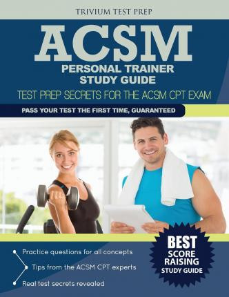 acsm personal trainer study guide pdf