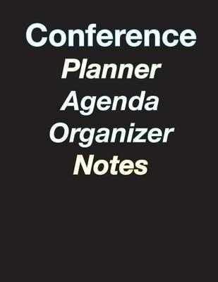 Large Color Coded 5-Day Conference Planner/Organizer/Agenda/Note-Taking - 8.5 X 11 - 44 Pages