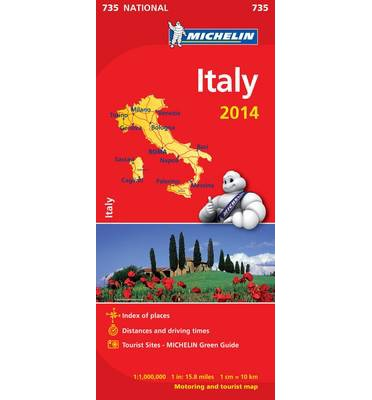 Italy 2014 National Map 735