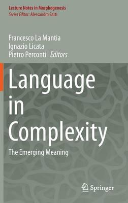 Language in Complexity 2016 : The Emerging Meaning