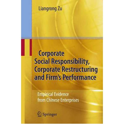 corporate social responsibility in firms and