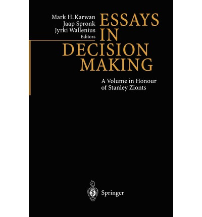 Decision-Making Concepts