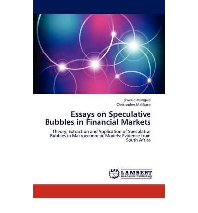 essays on experimental bubble markets The goals of experimental finance are to understand human and market behavior in settings relevant to finance experiments are synthetic economic environments created by researchers specifically to answer research questions this might involve, for example, establishing different market settings and environments to.