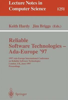 Reliable Software Technologies - ADA-Europe '97
