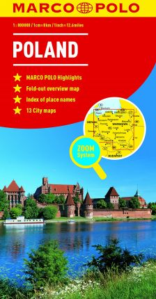 Poland Marco Polo Map