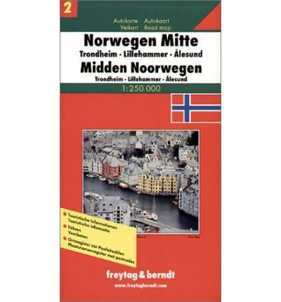 Books Box Norway Central Region Road Map PDF By Free - Norway road map pdf