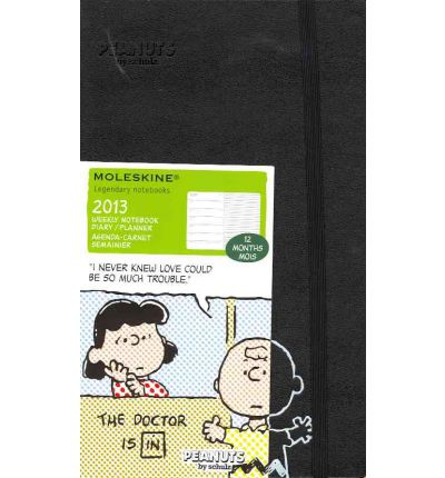2013 Moleskine Peanuts Large 12 Month Weekly Notebook