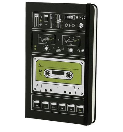 Moleskine Hard Audiocassette Plain Notebook Large