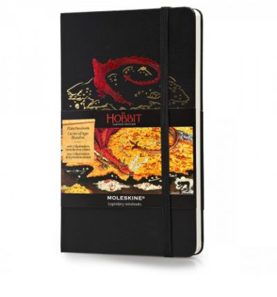 Moleskine the Hobbit Limited Edition Hard Plain Large Notebook (2013)