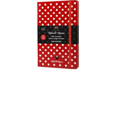 Moleskine Minnie Mouse Limited Edition Hard Plain Large Red Notebook (2014)