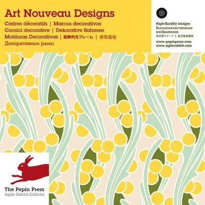 Art nouveau designs pepin van roojen 9789057681653 for Art nouveau shapes