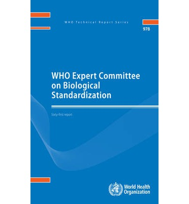 WHO Expert Committee on Biological Standardization