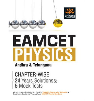Eamcet Physics Chapterwise 24 Years' Solutions and 5 Mock Tests