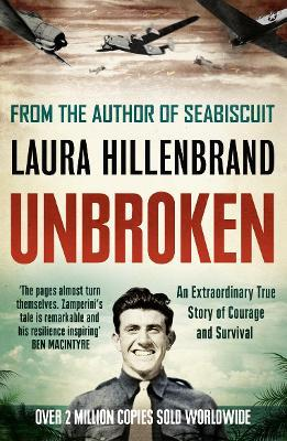 unbroken laura hillenbrand Both unbroken and her first nonfiction work, seabiscuit, spent weeks at number  one on the new york times bestseller list hillenbrand has received the book.
