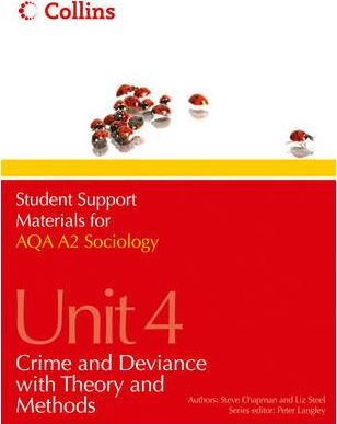 Student Support Materials for Sociology: AQA A2 Sociology Unit 4: Crime and Deviance with Theory and Methods