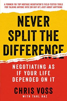 Never Split the Difference (Paperback)