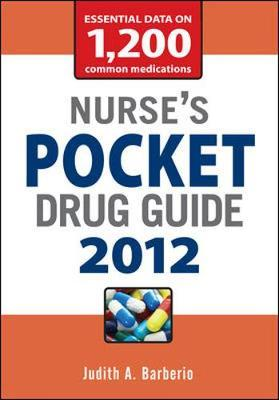 Nurse's Pocket Drug Guide 2012 2012