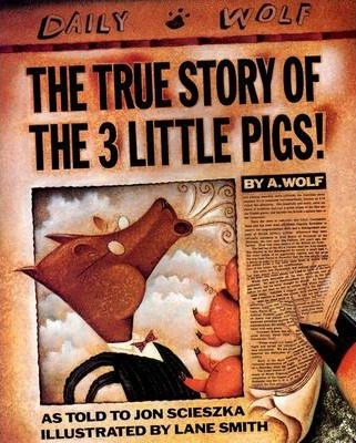 The True Story Of The Three Little Pigs (Paperback)