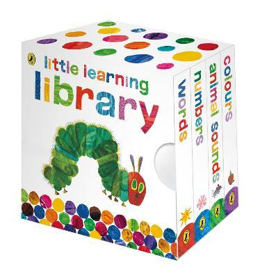 The Very Hungry Caterpillar: Little Learning Library (Βιβλία από Σκλήρό Χαρτί)