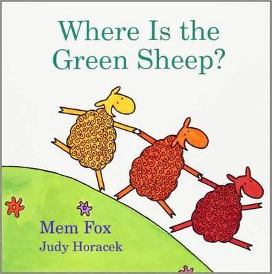 Where Is the Green Sheep? (Βιβλία από Σκλήρό Χαρτί)