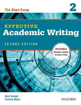 effective academic writing 2 student book the short essay This video tackles one of the most challenging aspects of academic writing: keeping things short osmond's academic writing and grammar for students is a clear and practical learning resource for all in advice to avoid emotive language in essays, the book contains information on sentence.