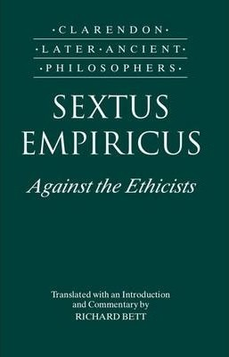 an analysis of sextus empiricus argument challenging the existence of gods 5 sextus empiricus contra rene descartes kenneth r westphal purdue university abstract it has become a veritable industry to defend descartes against the charge of circularity and, to a lesser extent, to argue that he successfully responds to the skep- ticism of sextus empiricus.