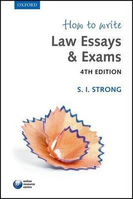 writing law essays exams Academic legal writing: law review articles, student notes, seminar papers, and getting on law review by eugene volokh gary t schwartz professor of law.