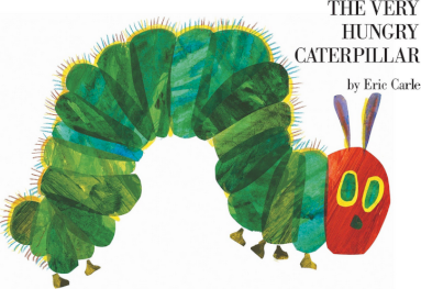 The Very Hungry Caterpillar (Carte bord)