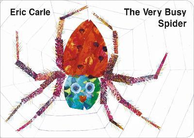 The Very Busy Spider (Βιβλία από Σκλήρό Χαρτί)
