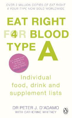 Eat Right for Blood Type A (Меки корици)