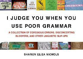 I Judge You When You Use Poor Grammar (Paperback)