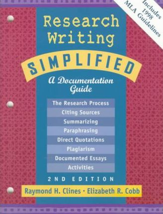 Research Writing Simplified: MLA Update