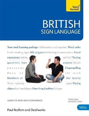 British Sign Language: Teach Yourself (Mixed media product)