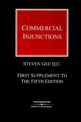 Commercial Injunctions 1st Supplement (Paperback)
