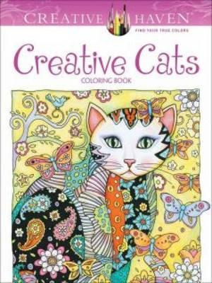Creative Haven Creative Cats Coloring Book (Paperback)