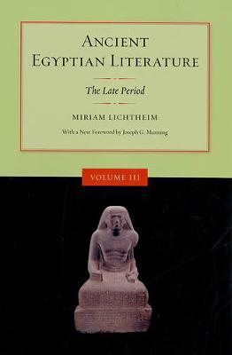 Ancient Egyptian Literature: Late Period v. 3