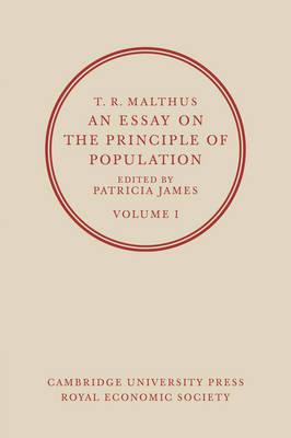 malthus r. 1798. an essay on the principle of population Thomas r malthus (1766-1834) malthus known for his essay on the principle of population malthus wrote his first version of the essay in 1798.