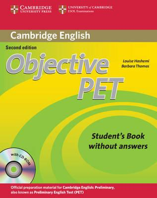 Objective: Objective PET Student's Book without Answers with CD-ROM (Смесени медии)